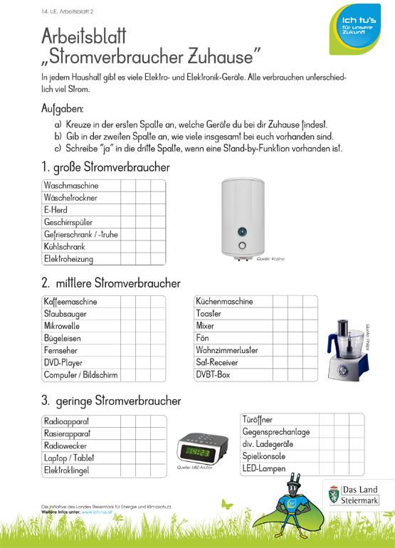 Einheit 14: Stromverbrauch messen - IchTus